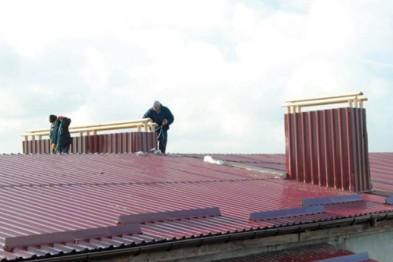 ОСББ Рівненщини ремонтують дах за кошти іноземних донорів