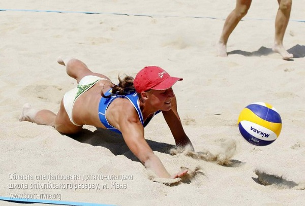 Рівненські волейболісти взяли участь в чемпіонаті Європи з пляжного волейболу