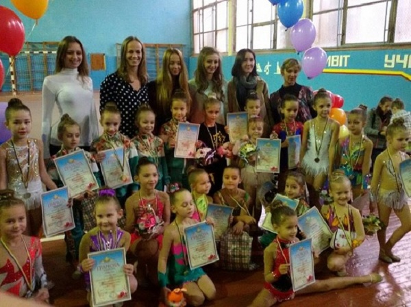 Рівненські гімнастки перемогли на турнірі в Луцьку