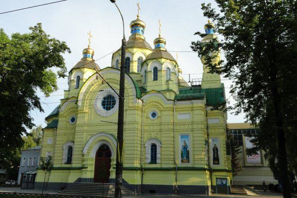 Вночі пограбували Свято-Воскресенський собор міста Рівне